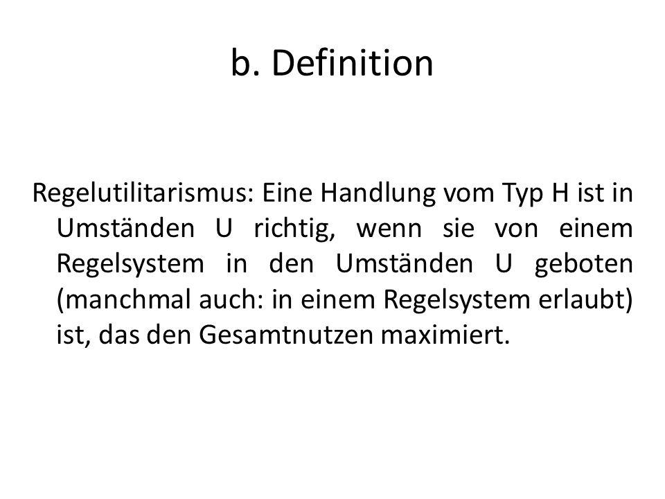 b. Definition