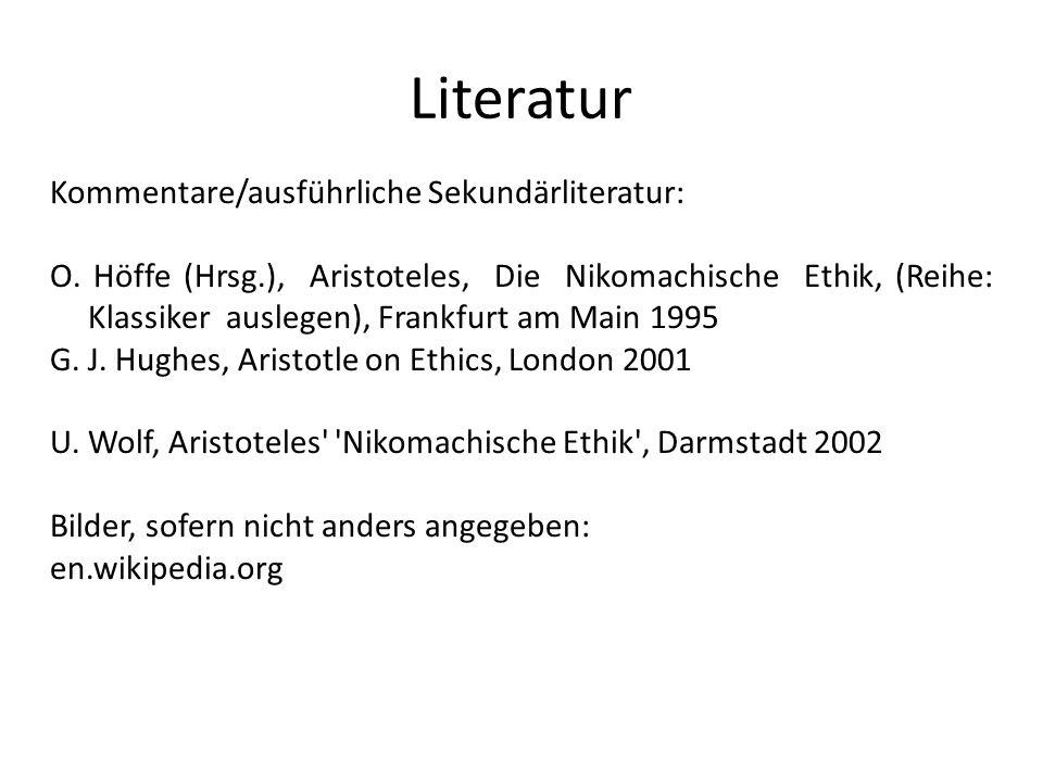 Literatur Kommentare/ausführliche Sekundärliteratur: