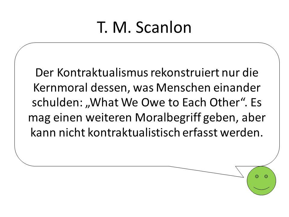T. M. Scanlon