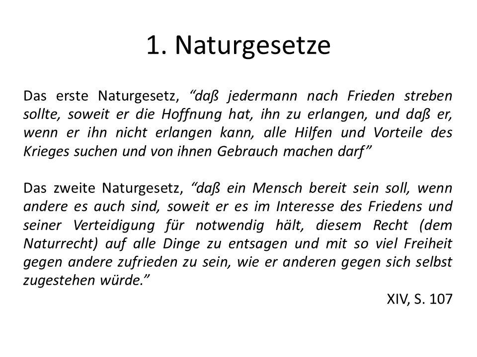 1. Naturgesetze