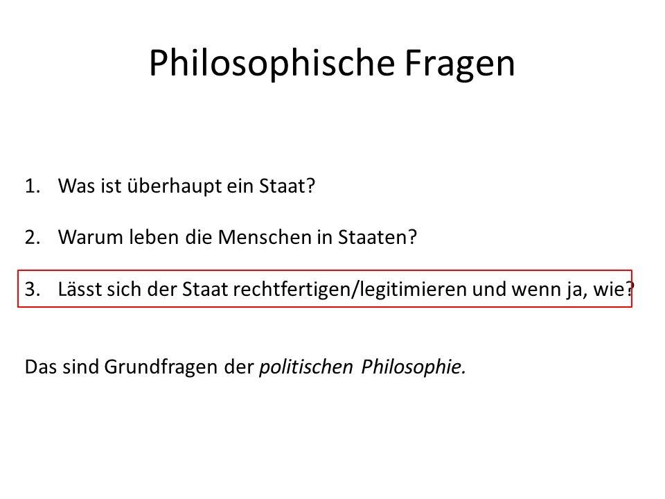 Philosophische Fragen