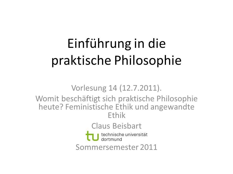 Einführung in die praktische Philosophie