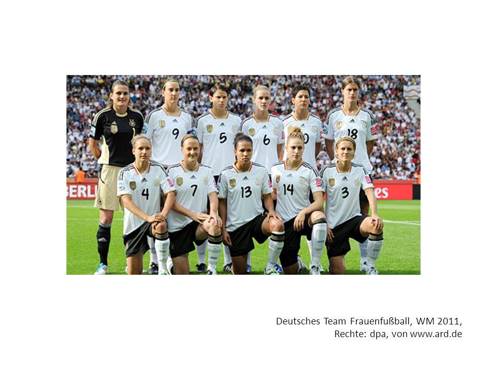 Deutsches Team Frauenfußball, WM 2011,