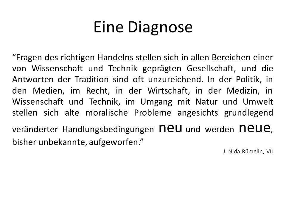 Eine Diagnose