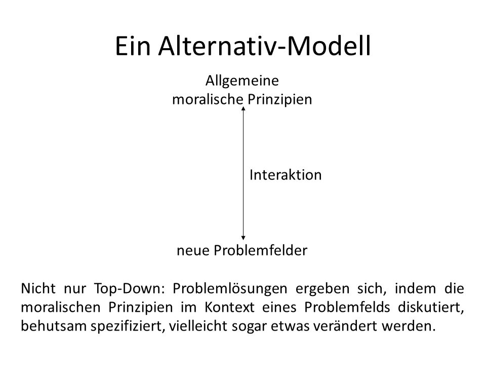 Ein Alternativ-Modell