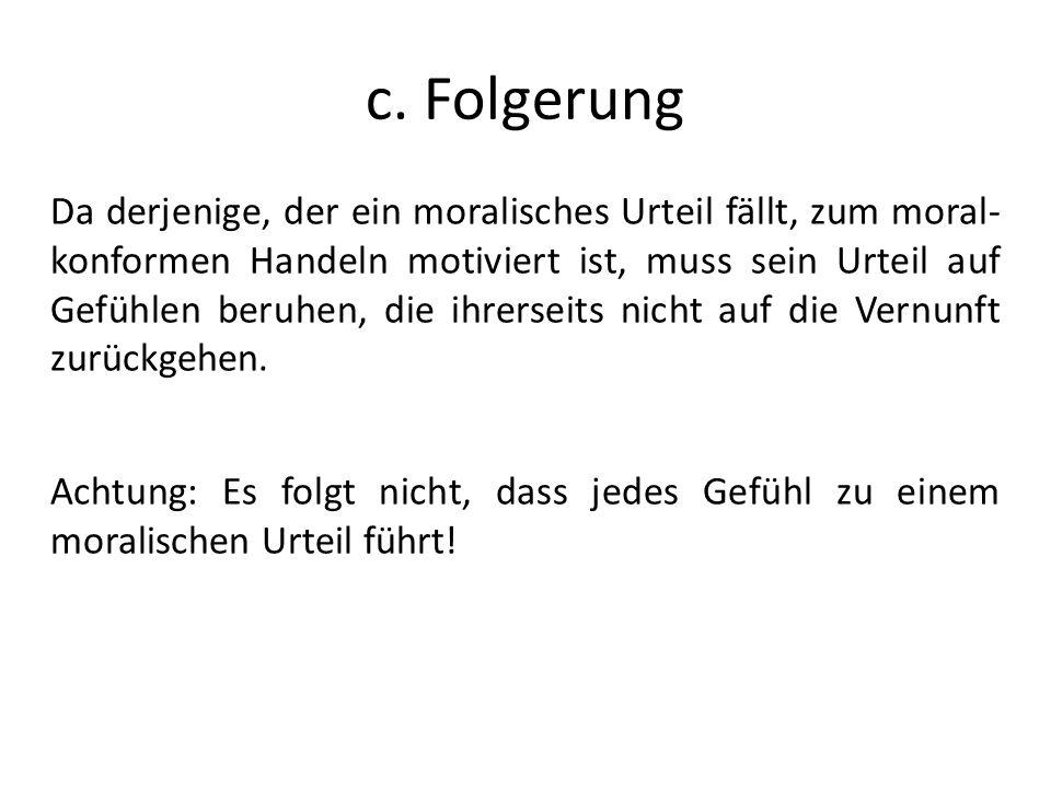 c. Folgerung