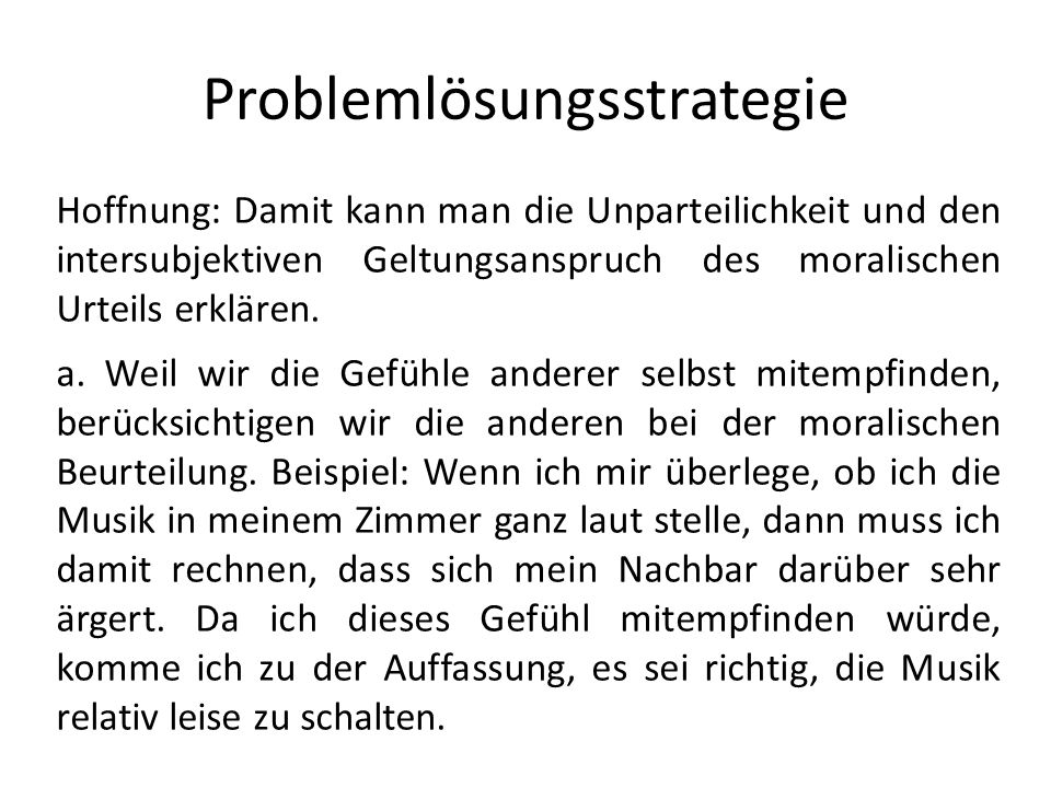 Problemlösungsstrategie