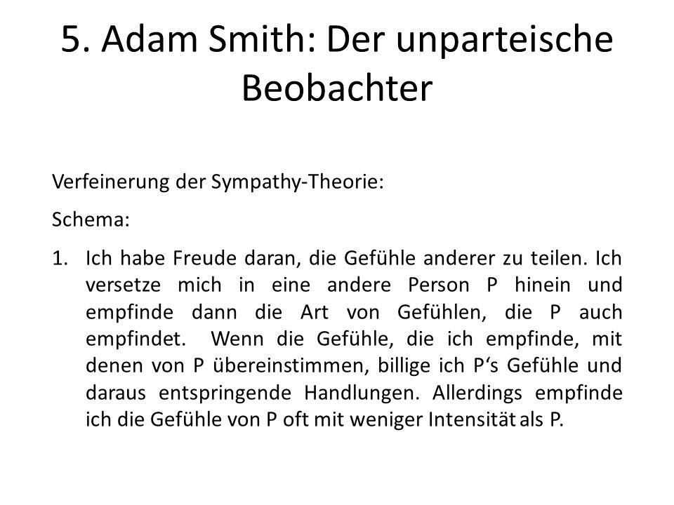 5. Adam Smith: Der unparteische Beobachter