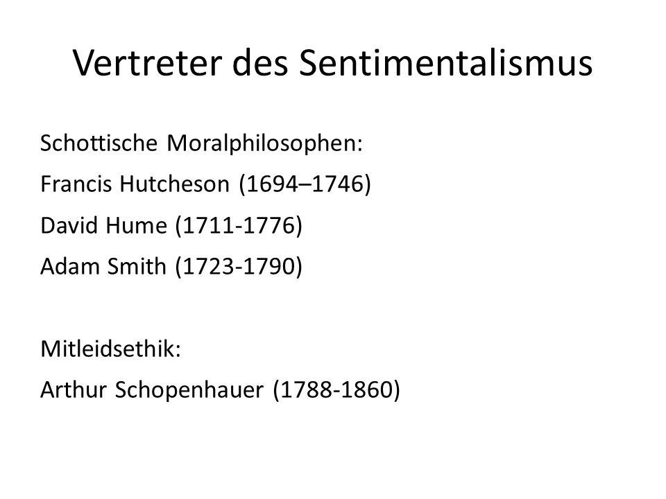 Vertreter des Sentimentalismus
