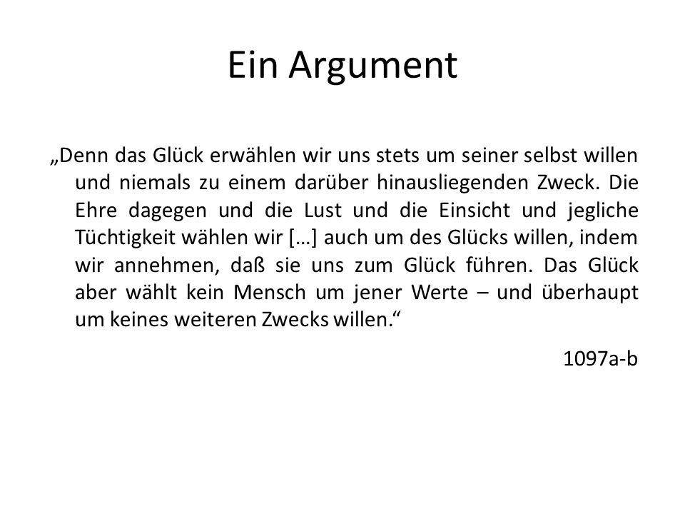 Ein Argument
