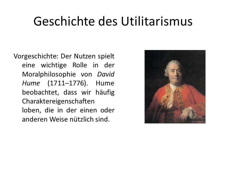 Geschichte des Utilitarismus
