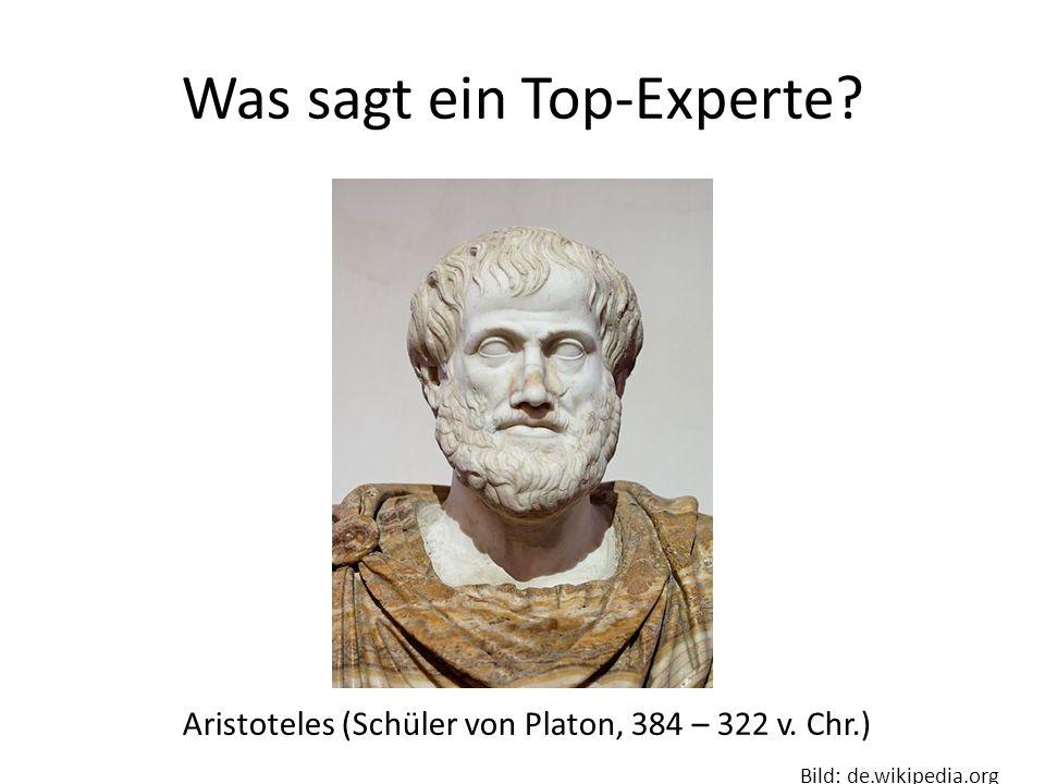 Was sagt ein Top-Experte