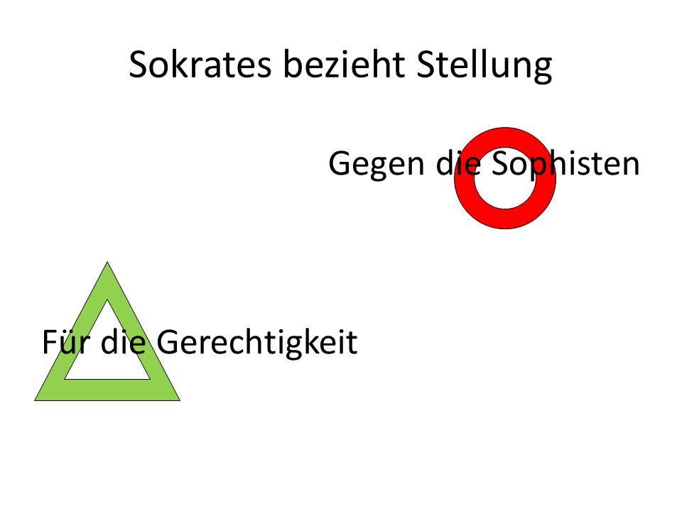 Sokrates bezieht Stellung