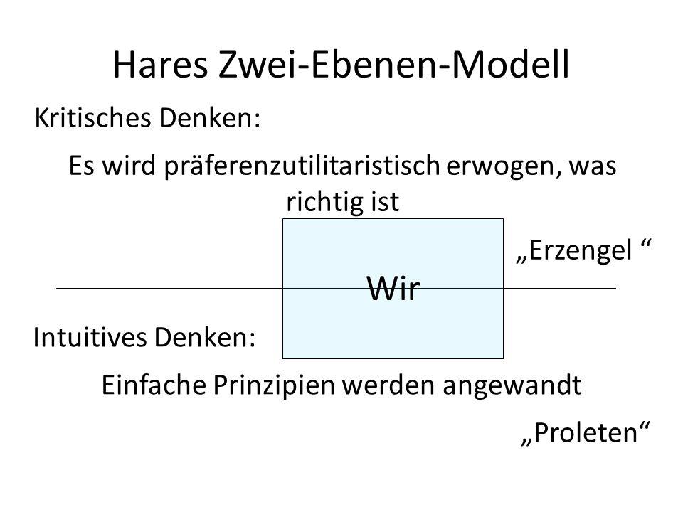 Hares Zwei-Ebenen-Modell