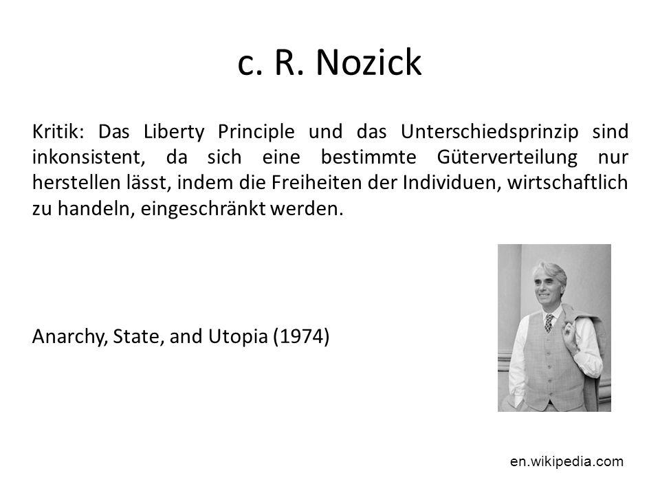 c. R. Nozick