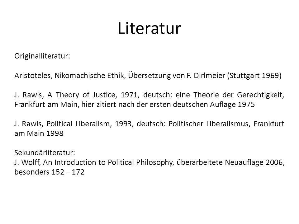 Literatur Originalliteratur: