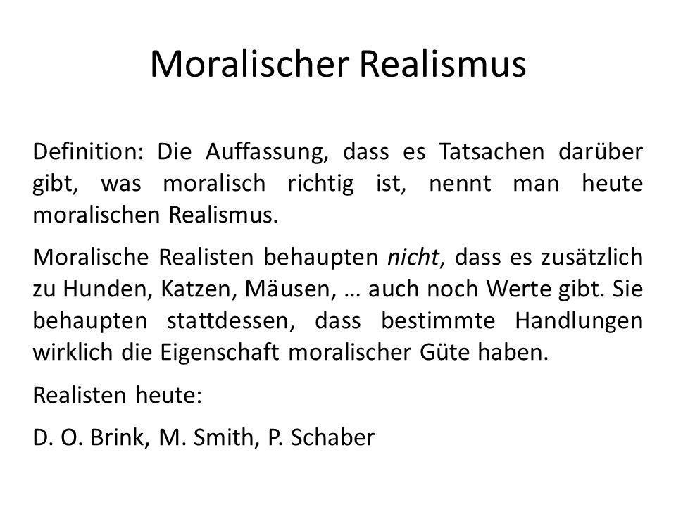 Moralischer Realismus