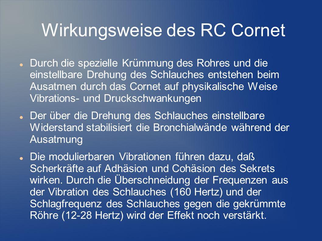 Wirkungsweise des RC Cornet