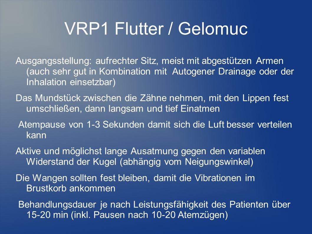 VRP1 Flutter / Gelomuc