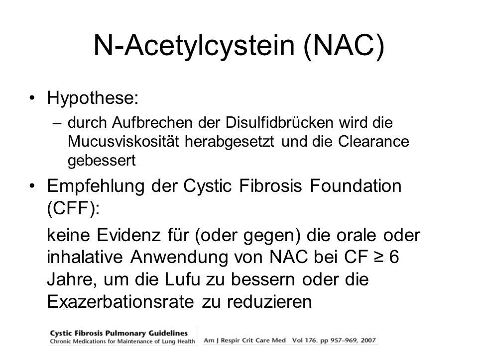 N-Acetylcystein (NAC)