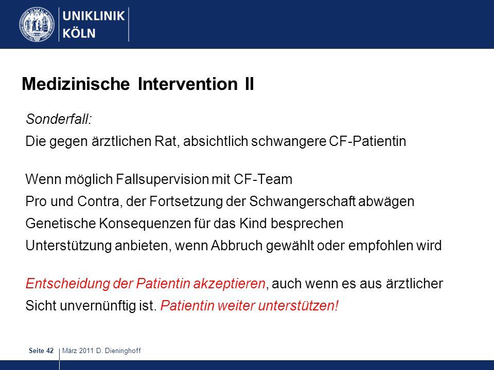 Medizinische Intervention II