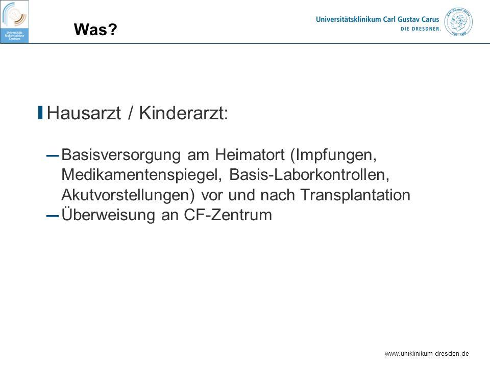 Hausarzt / Kinderarzt: