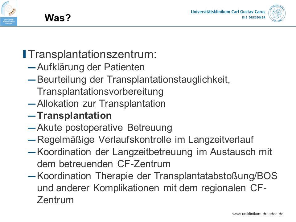 Transplantationszentrum: