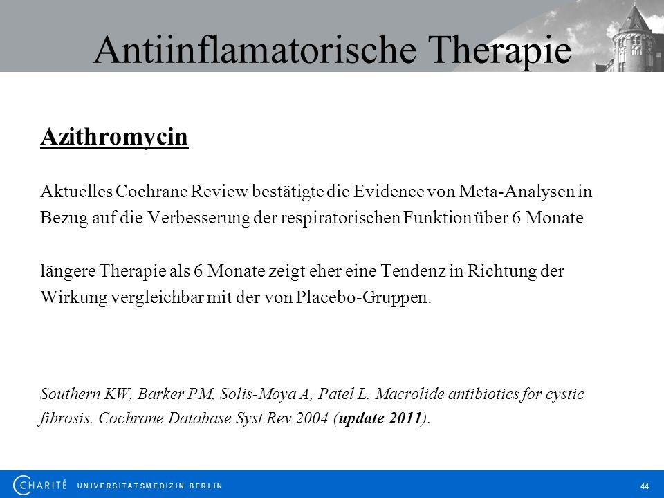 Antiinflamatorische Therapie