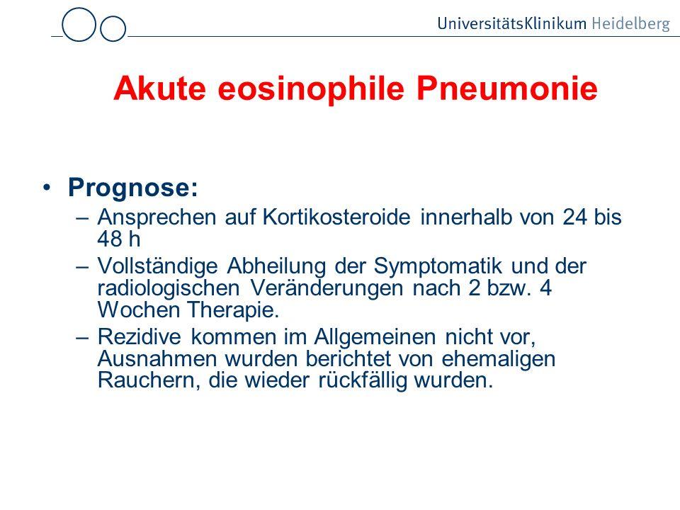 Akute eosinophile Pneumonie