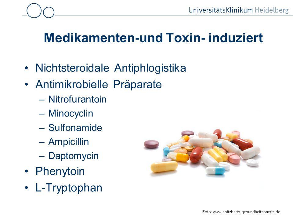Medikamenten-und Toxin- induziert