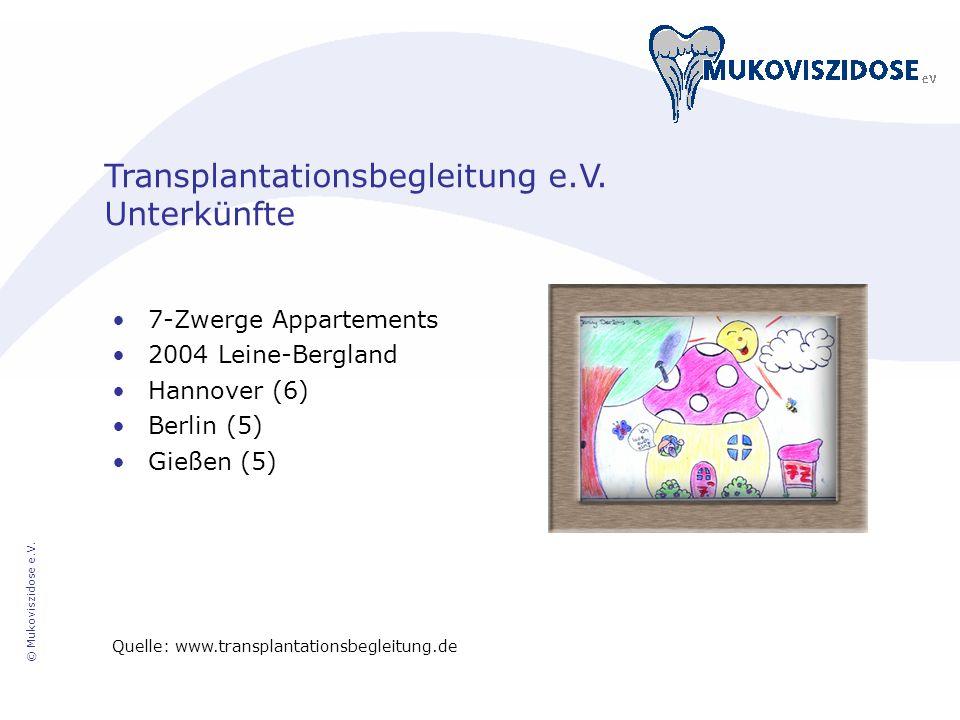 Transplantationsbegleitung e.V. Unterkünfte