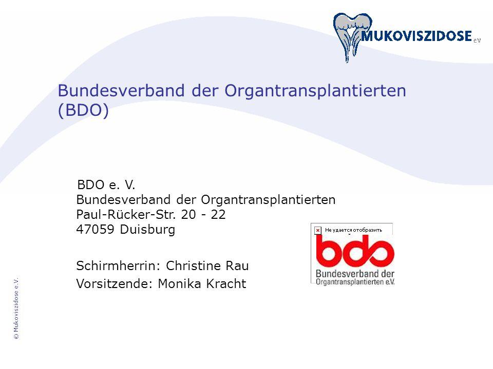 Bundesverband der Organtransplantierten (BDO)