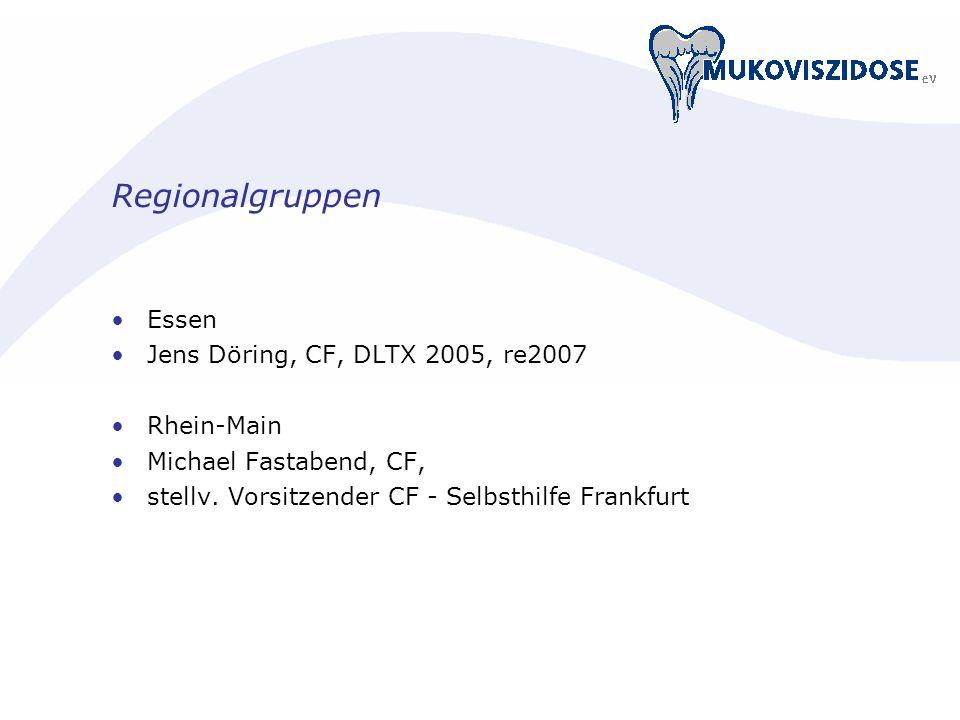 Regionalgruppen Essen Jens Döring, CF, DLTX 2005, re2007 Rhein-Main