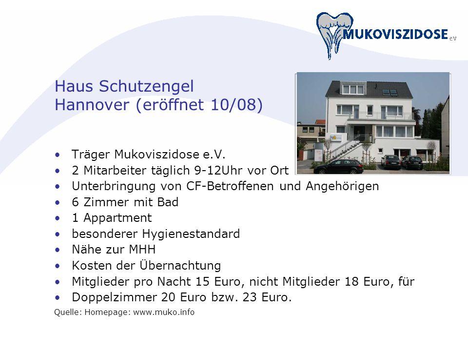 Haus Schutzengel Hannover (eröffnet 10/08)