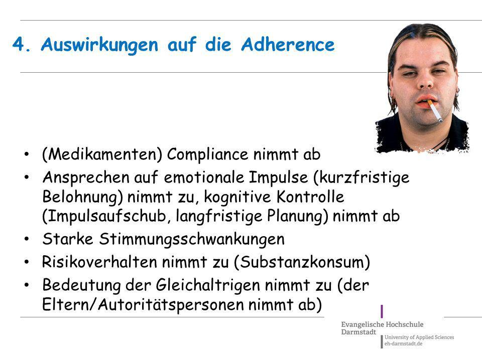 4. Auswirkungen auf die Adherence