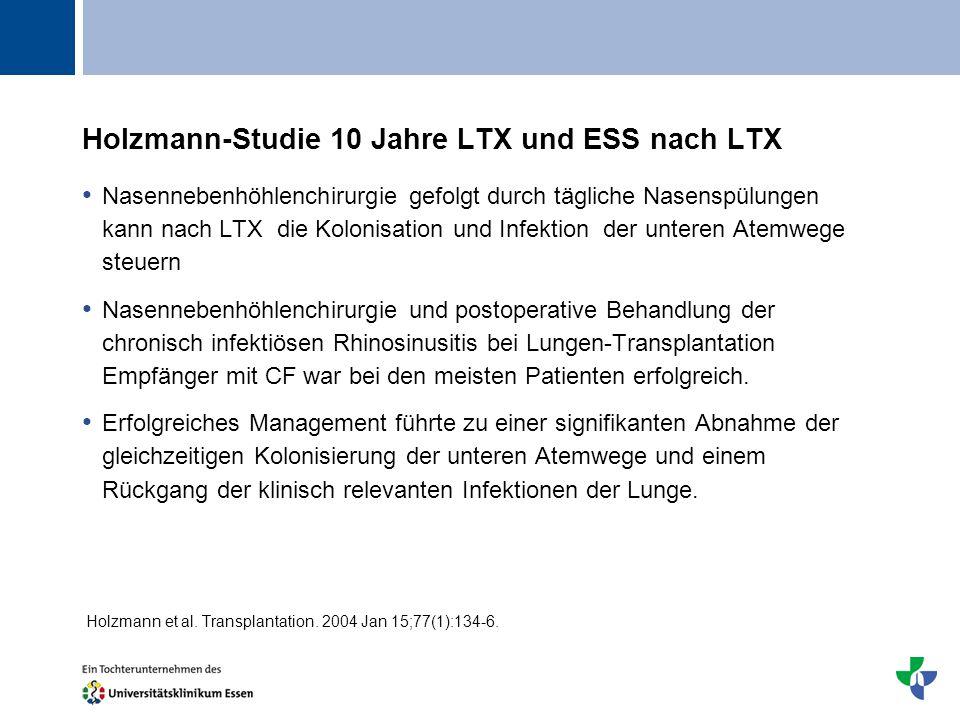 Holzmann-Studie 10 Jahre LTX und ESS nach LTX
