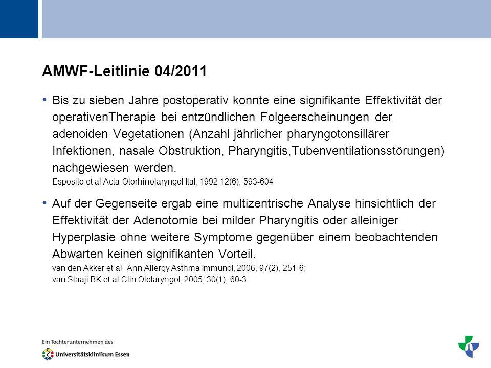 AMWF-Leitlinie 04/2011