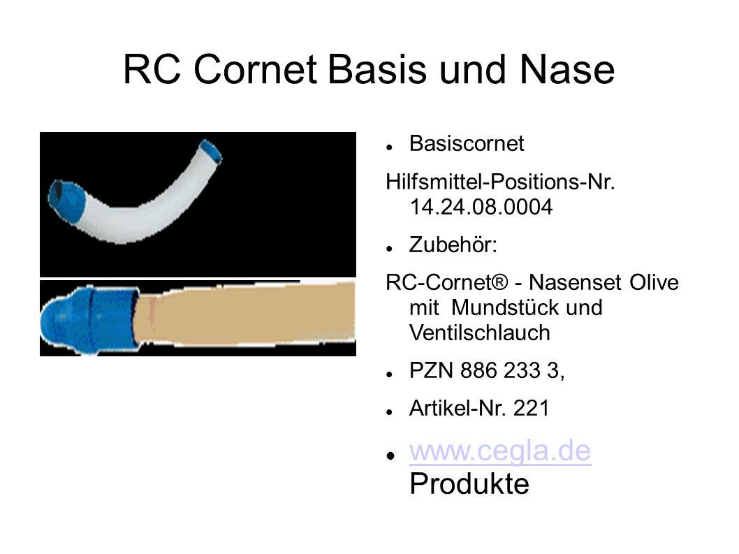 RC Cornet Basis und Nase