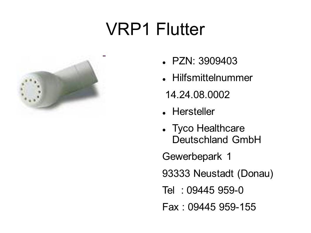 VRP1 Flutter PZN: 3909403 Hilfsmittelnummer 14.24.08.0002 Hersteller