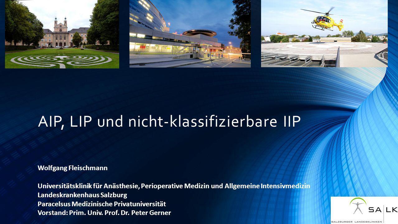 AIP, LIP und nicht-klassifizierbare IIP