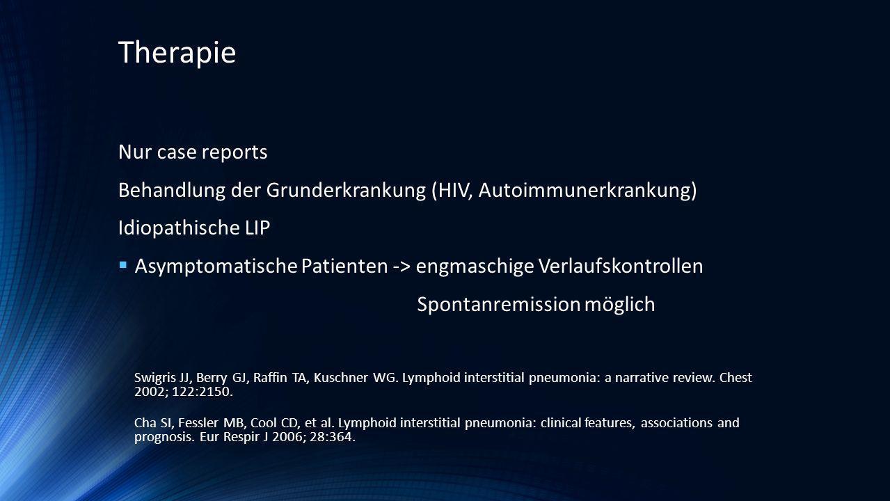 Therapie Nur case reports