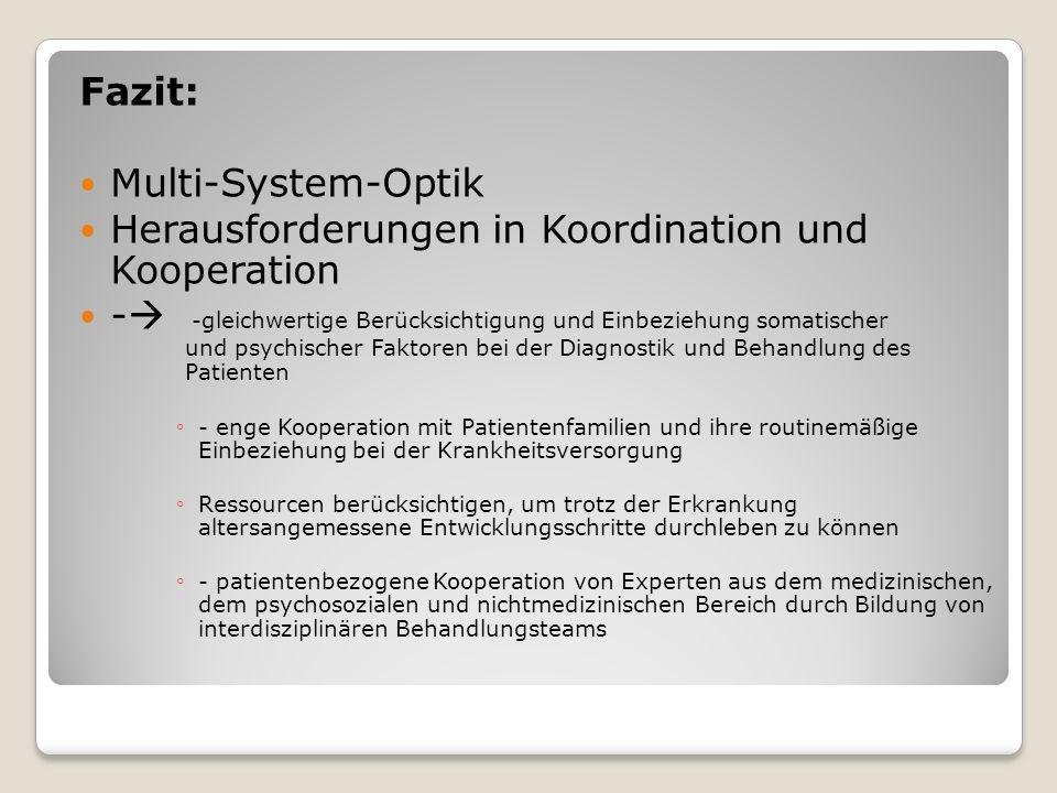 Herausforderungen in Koordination und Kooperation