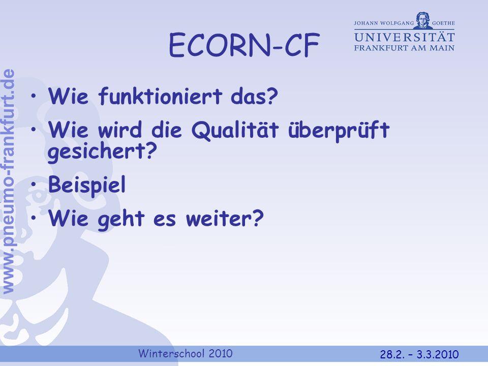 ECORN-CF Wie funktioniert das