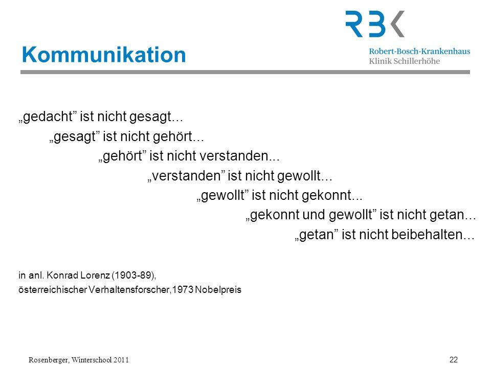 """Kommunikation """"gedacht ist nicht gesagt..."""