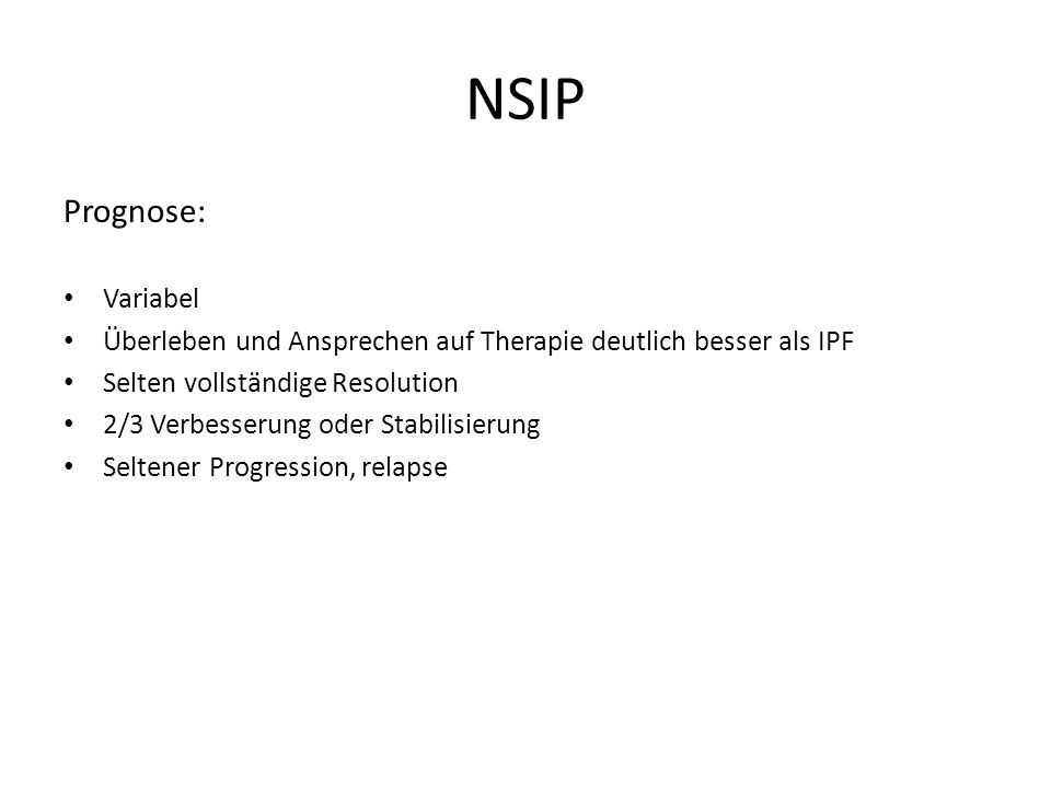 NSIP Prognose: Variabel