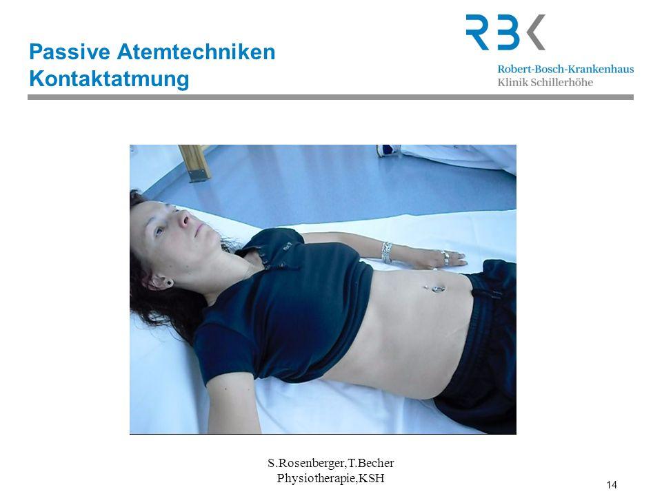 Passive Atemtechniken Kontaktatmung