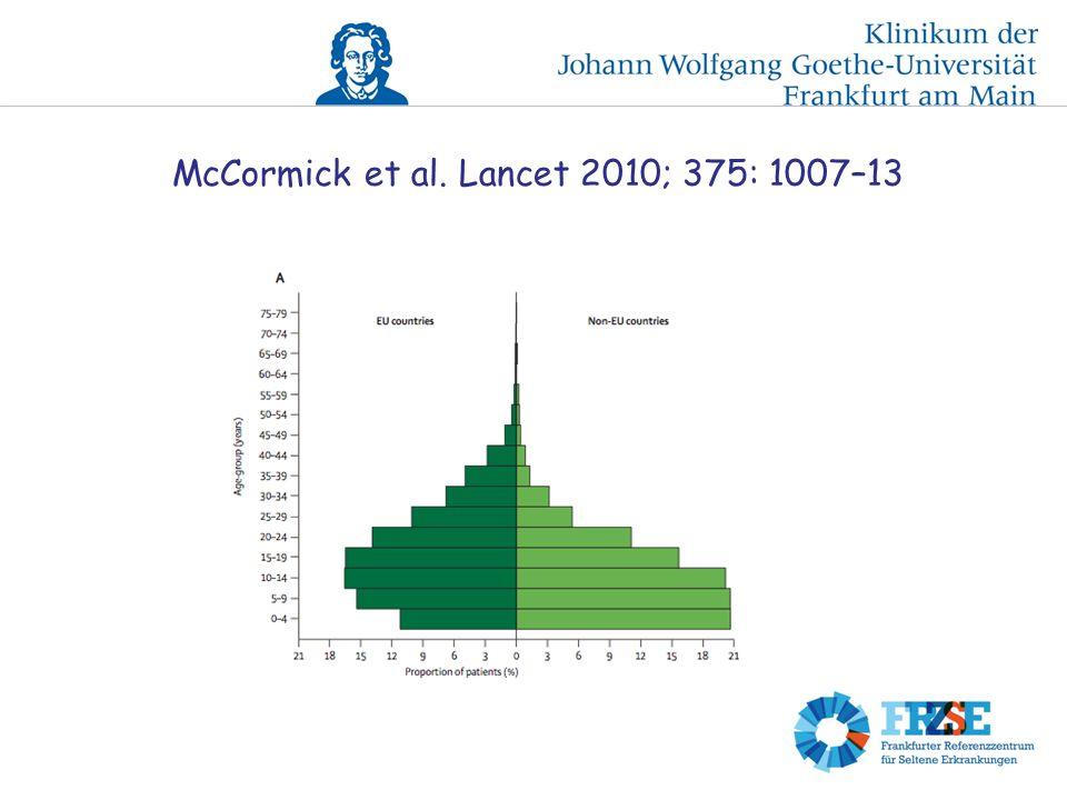 McCormick et al. Lancet 2010; 375: 1007–13