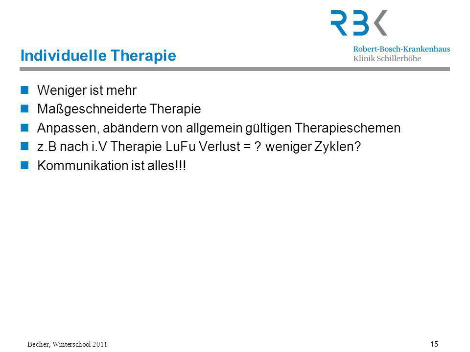 Individuelle Therapie