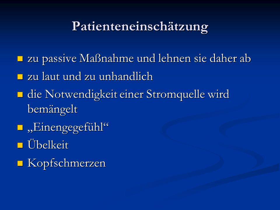 Patienteneinschätzung