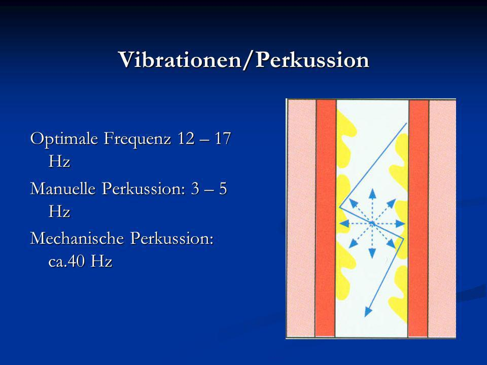 Vibrationen/Perkussion